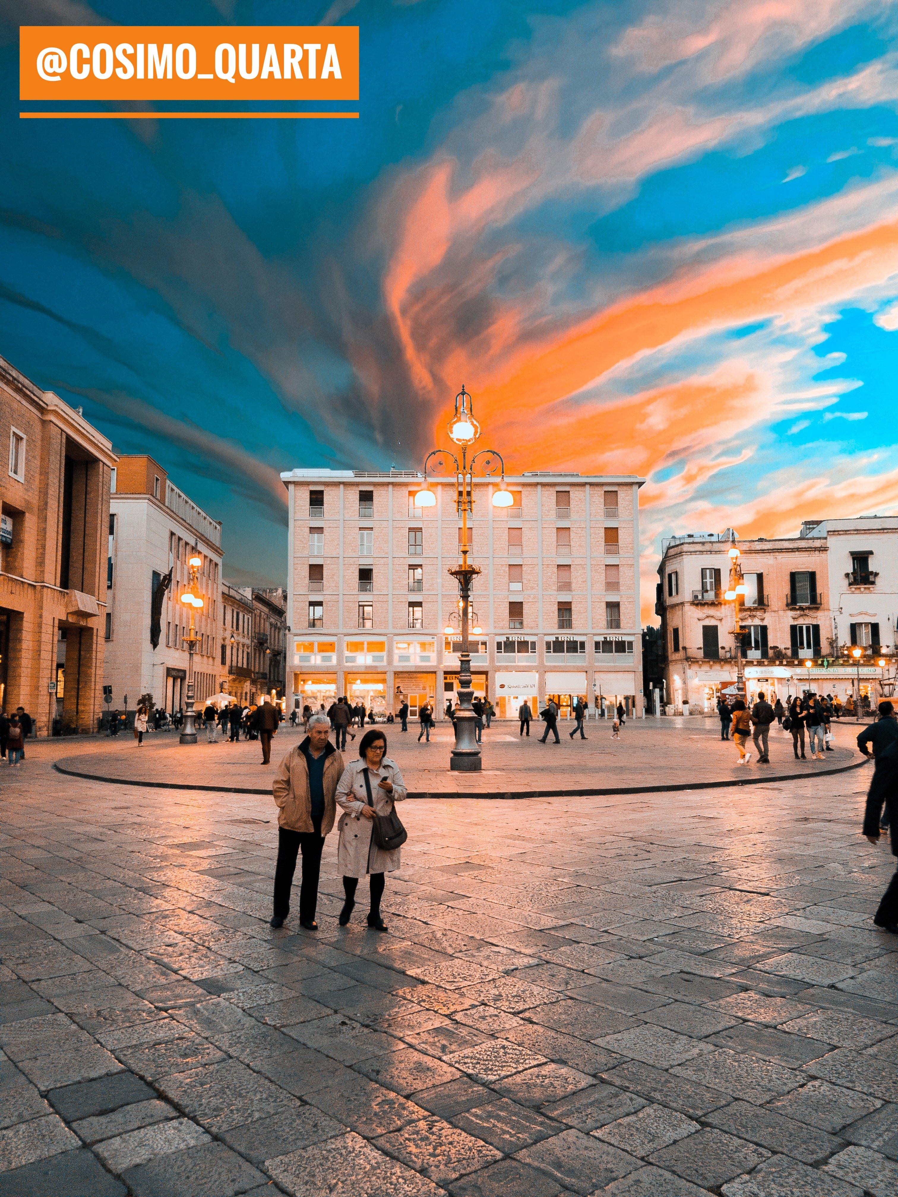 Piazza S.Oronzo Lecce