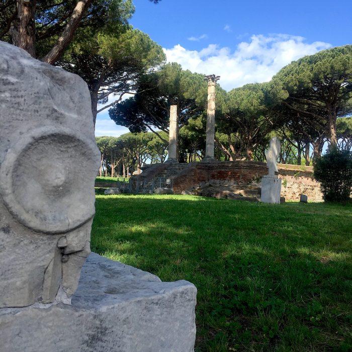 ostia antica piazzale conciliazioni