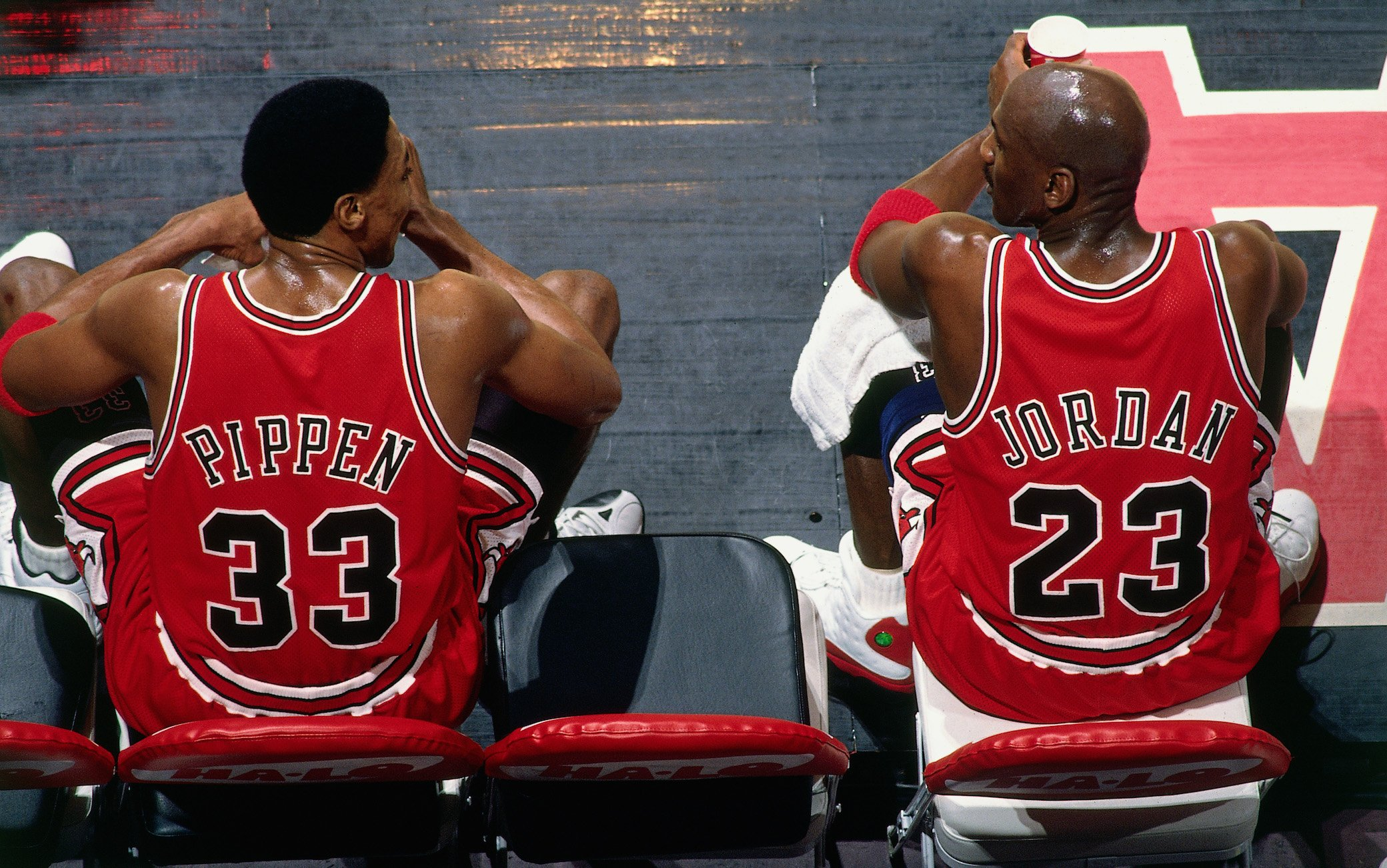 the last dance MJ and Pippen